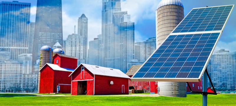 Versatilidade das soluções fotovoltaicas