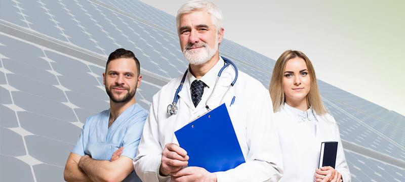 Energia para a saúde: soluções solares em hospitais